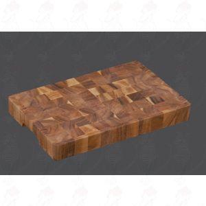 Hakblok kopshout 35 x 23 x 4 cm - Acacia hout