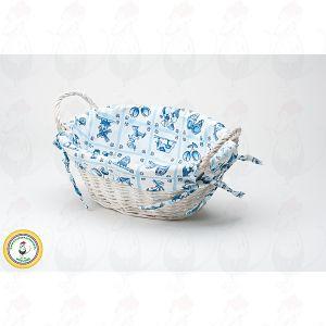 Broodmandje Delfts Blauw Ovaal