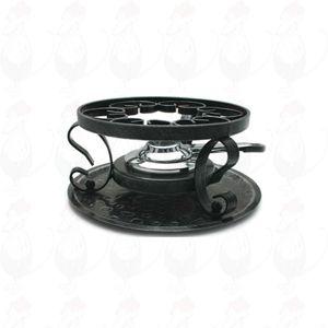 Fondue onderstel - IJzeren rechaud voor fonduepannen.