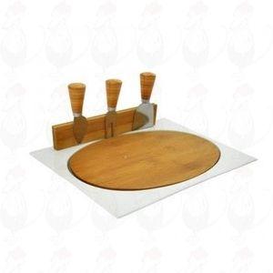 Kaasplank Fromage | Magnetische porselein | 3 Kaasmessen