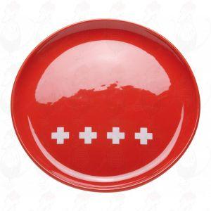 Kaasfonduebord Zwitsers XXX Rood