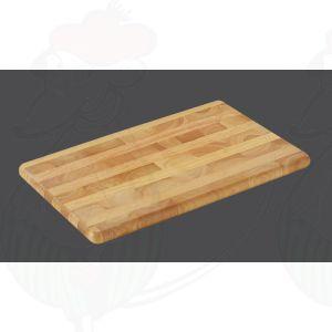 Snijplank kopshout 45 x 30 x 2,5 cm - Rubberhout