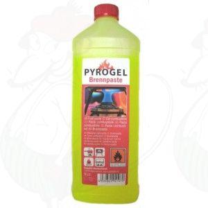 Pyrogel brandpasta Fles 1 liter