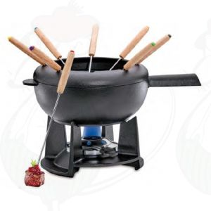 Fondue set Saas-Fee | Black