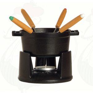 Staub Fondue - Zwart