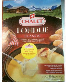 Chalet Kaasfondue 800g (2x400g) - Kant en Klaar